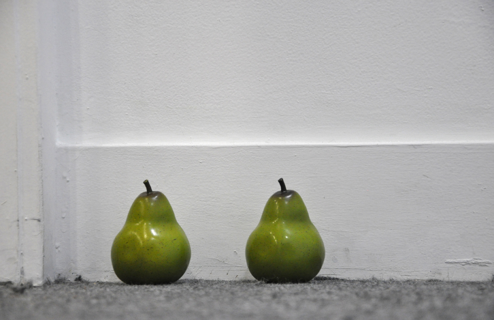 Family Resemblance plastic pears